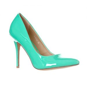 Mint Green Pumps